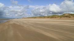 Dunes in De Haan, Belgium, clip3 - stock footage