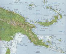 Outline map Stock Photos