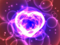 Purple Heart Stock Illustration