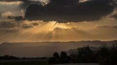 Desert sunset timelapse 4K Stock Footage