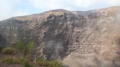 Mount Vesuvius Stock Footage