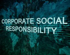 Corporate social responsibility Stock Illustration