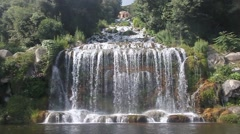 Fountain at Palace of Caserta Stock Footage