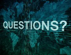 Questions Stock Illustration