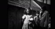 Jewish children in village Stock Footage