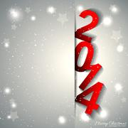 New Year Greeting Card - stock illustration