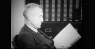 Secretary Cordell Hull working in his office Stock Footage