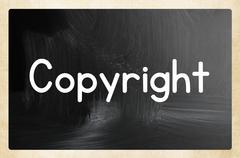 Copyright concept Stock Photos