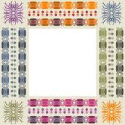 Stock Illustration of Ornamental photo frame