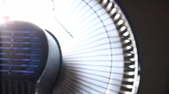 Electrical Industrial Fan Movement Stock Footage