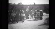 Hopi Indians performing native dance Stock Footage