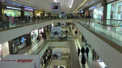 Purchase and sale of goods in the shopping complex Stock Footage