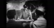 Military officer briefing soldiers for a raid in Mateur Stock Footage