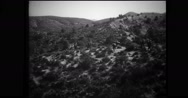 Italian soldiers moving forward on mountain Stock Footage