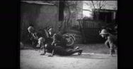 Italian soldiers preparing for battle Stock Footage