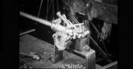 Process of assembling steering gear Stock Footage