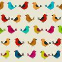 Stock Illustration of Bird seamless pattern