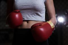 Red boxing gloves Kuvituskuvat