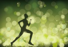runner - stock illustration