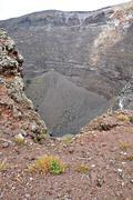 The top of the volcano Vesuvius Stock Photos