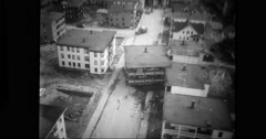 Destruction caused by flood in USA Free Stock Footage