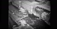 Destruction caused by flood in USA Stock Footage