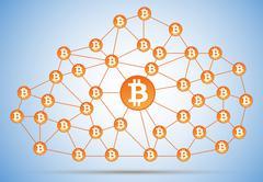 Bitcoin cloud net Piirros