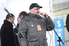 Civil activist vadim korovin Stock Photos