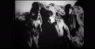 Prisoners captured by German soldiers Stock Footage