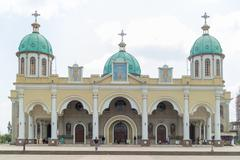 Bole Medhane Alem Church - stock photo