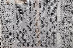Openwork of Orenburg downy shawl; - stock photo