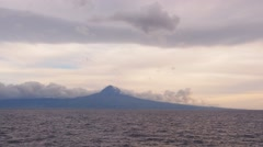 Pico Island, Azores, Portugal Stock Footage