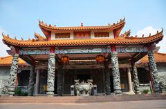 guan ying temple in malaysia - stock photo