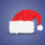 Santa  hat Stock Illustration
