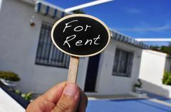 House for rent Stock Photos