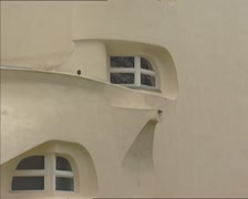 Tilt up  Einstein Tower observatory anno 1921 Stock Footage