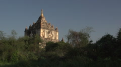 Gawdawpalin Temple Stock Footage