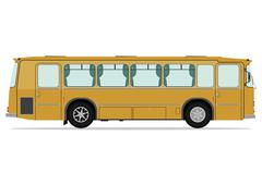 Stock Illustration of vintage bus
