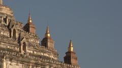 Gawdawpalin Temple Stock Footage