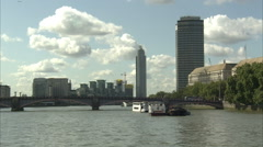 Vauxhall Tower Long Shot Stock Footage