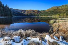 saint anna lake - stock photo