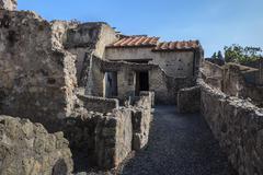 Herculaneum,naples italy Stock Photos