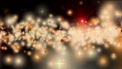 Abstract starfield fantasy background - stock footage