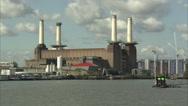 Stock Video Footage of Battersea Power Station Long Shot