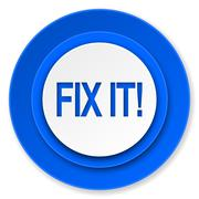 Fix it icon. Stock Illustration