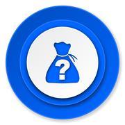 Riddle icon. Stock Illustration