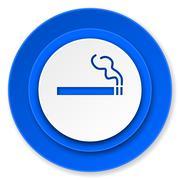 Cigarette icon, nicotine sign. Stock Illustration