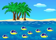 Hawaii Stock Illustration