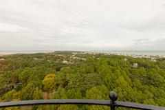 Stock Photo of atop currituck light house