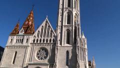 Matthias Church Budapest Stock Footage